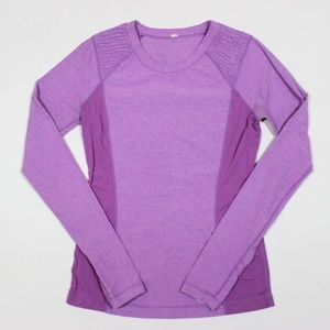 Lululemon Long Sleeve Crew Athletic Top
